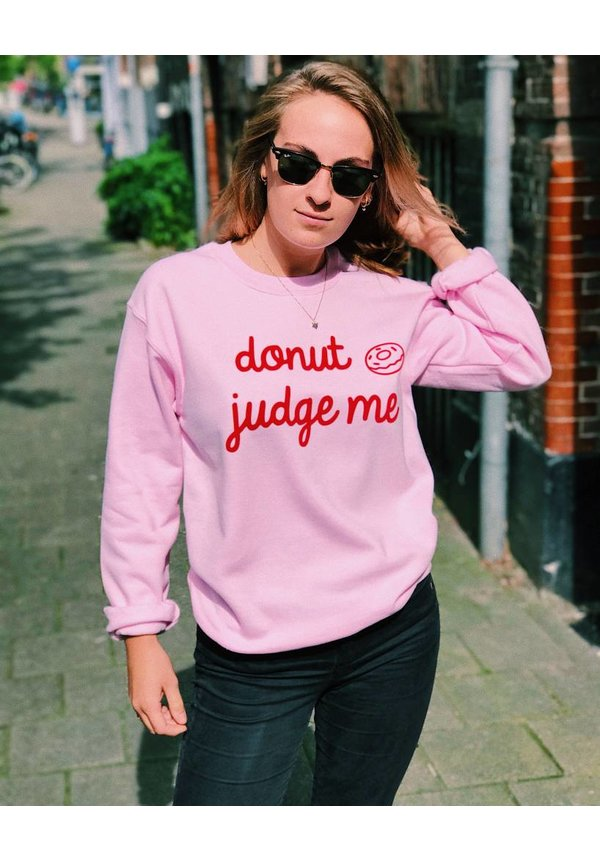 Donut judge me