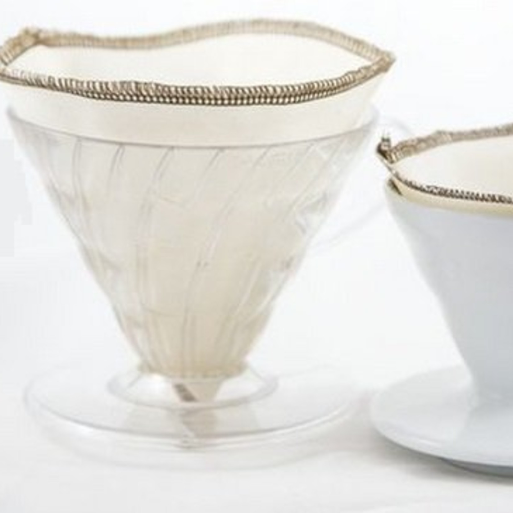 Katoenen herbruikbare koffiefilter (2)
