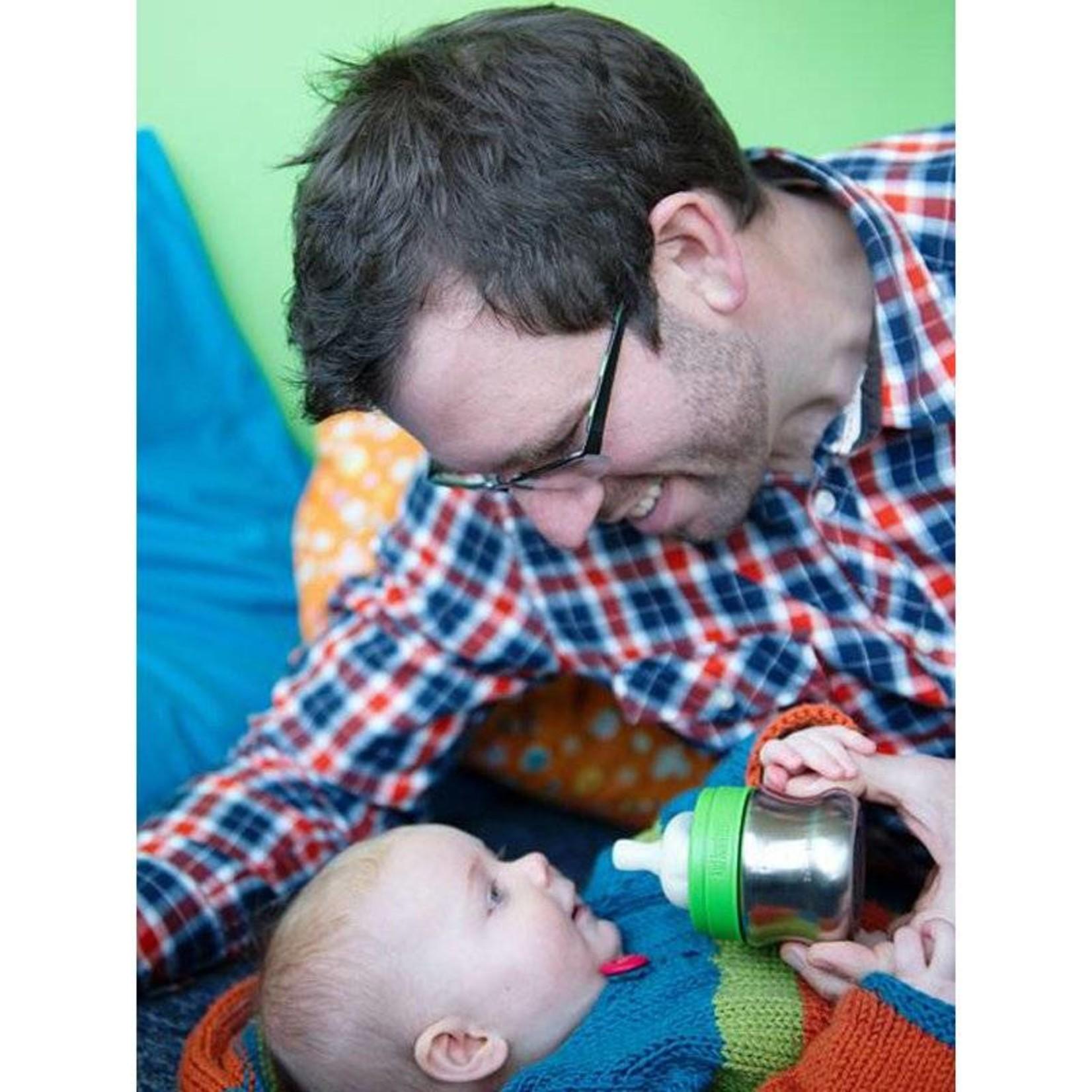 Kid Kanteen Spenen voor rvs  babyfles