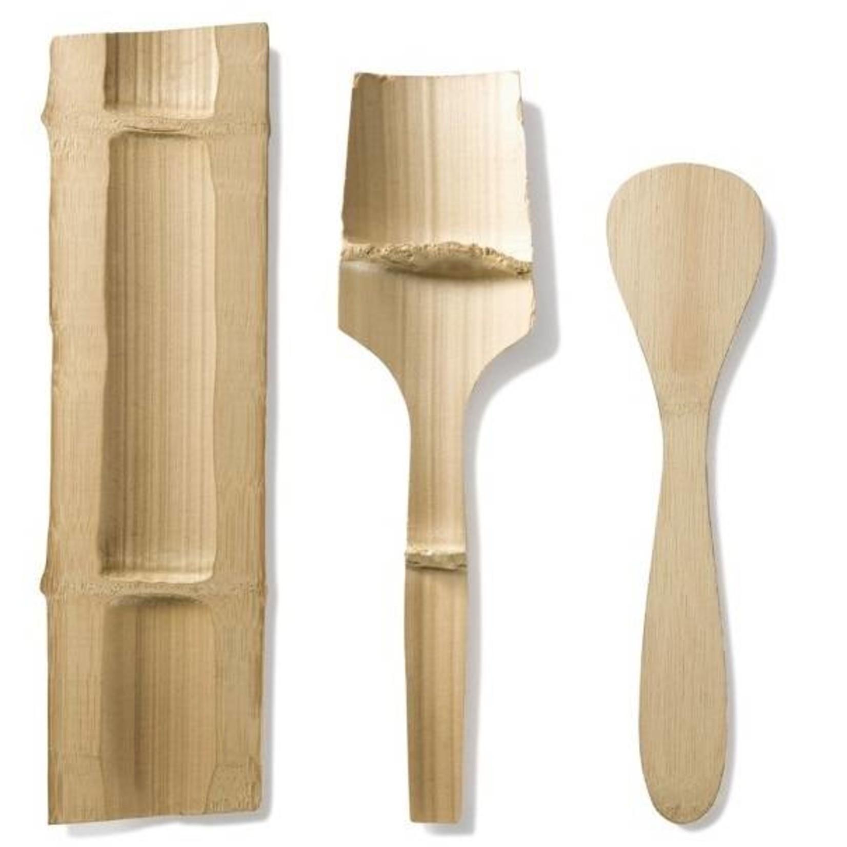 Bambu Spatel van biologische bamboe