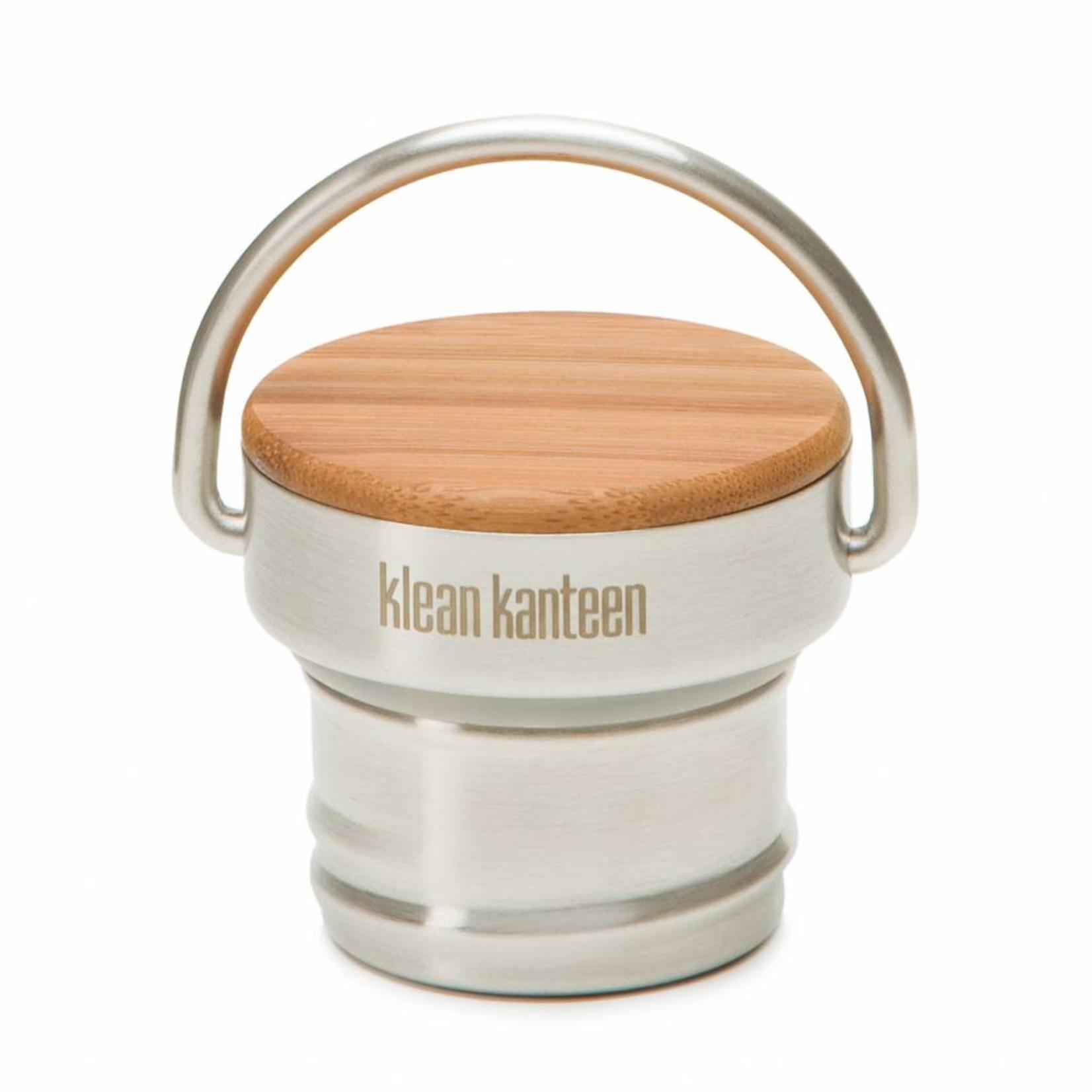 Klean Kanteen Ringdop RVS of Bamboe