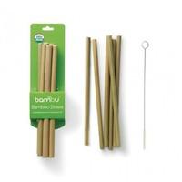 Herbruikbare bamboe rietjes