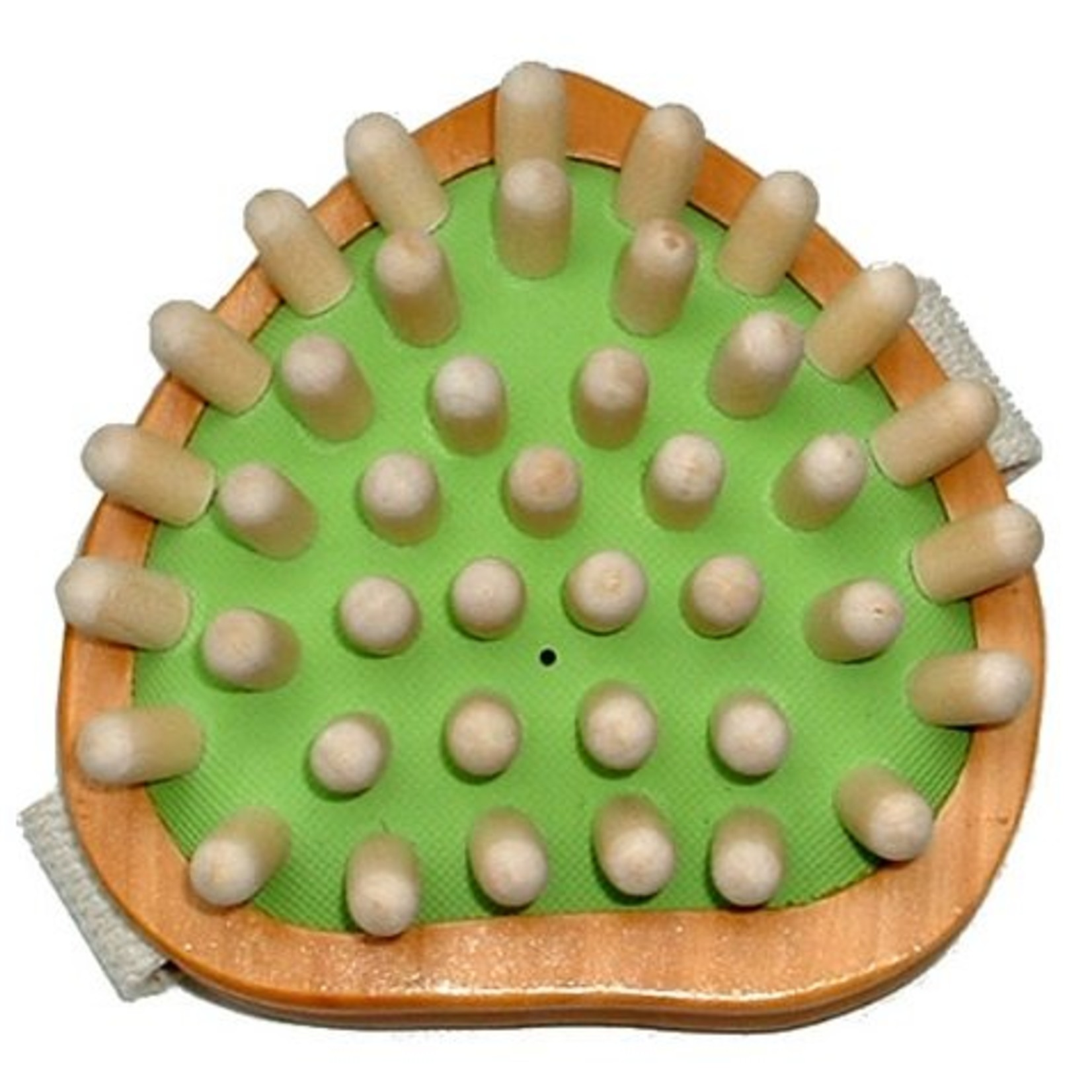 Kost Kamm Esdoornhouten massageborstel bij o.a. cellulitis