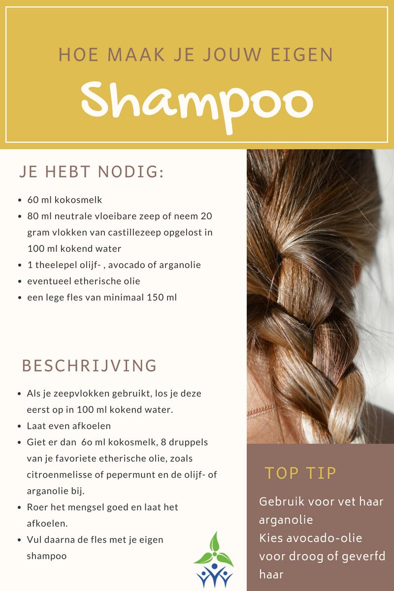 Maak je eigen shampoo