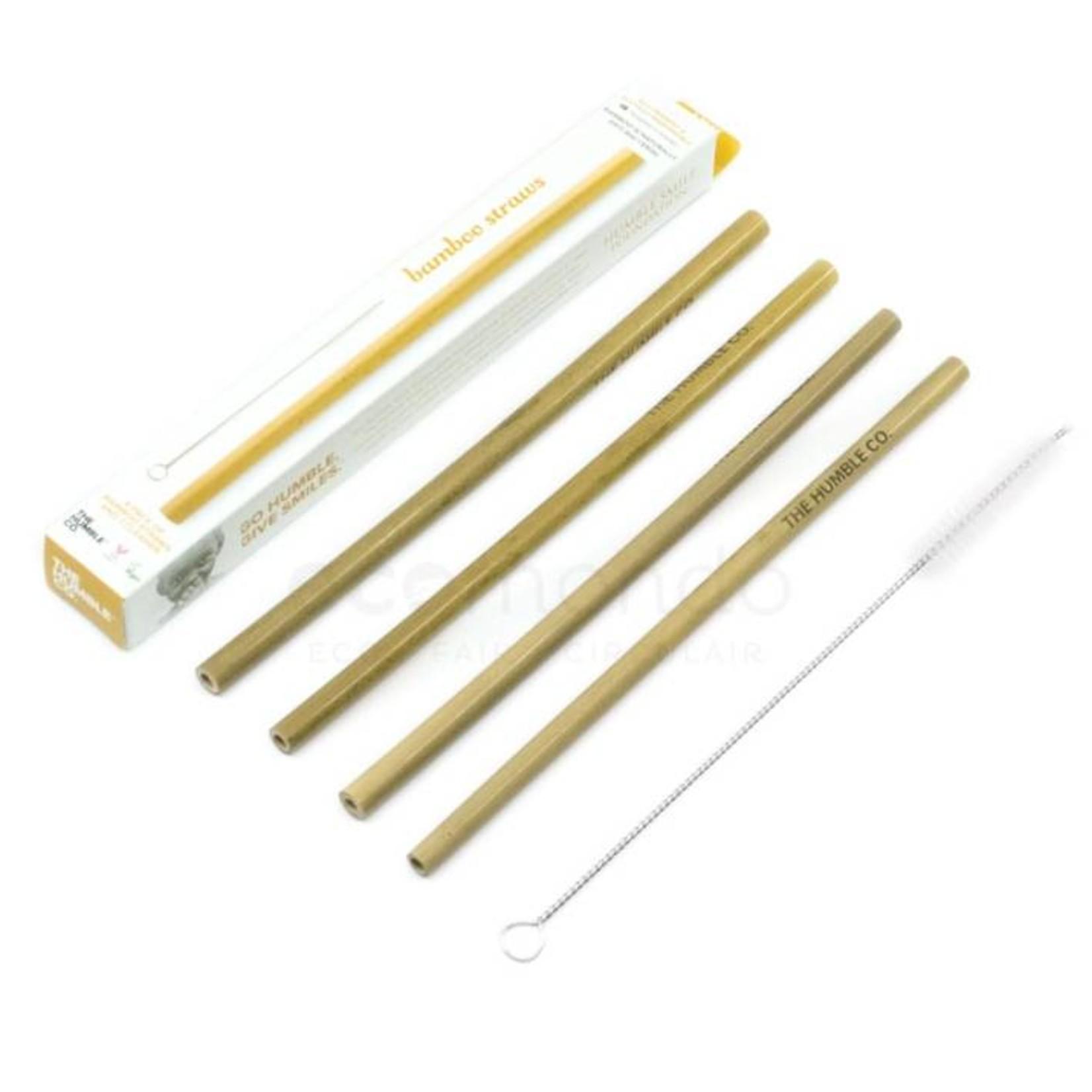Bambu Herbruikbare bamboe rietjes
