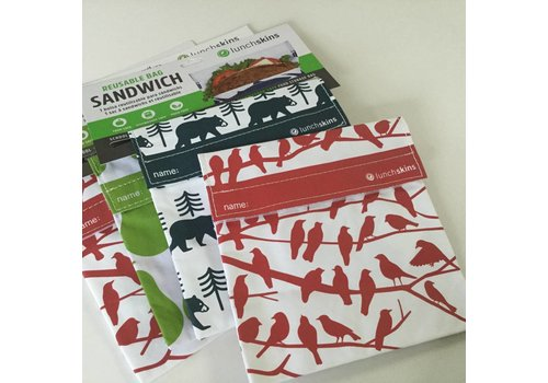 LunchSkins Snack- en Lunchzakjes
