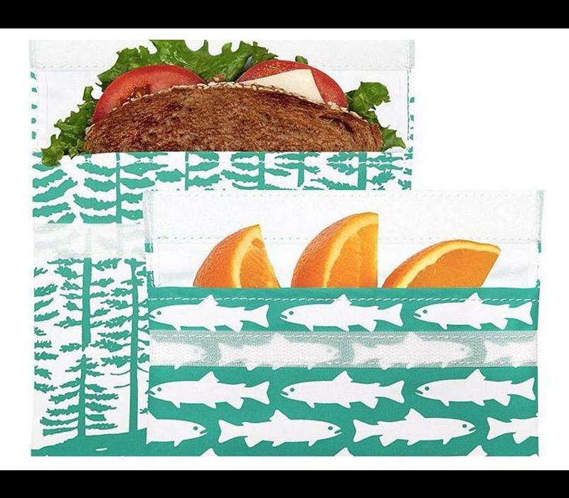 Herbruikbaar Lunch- en snackzakjes