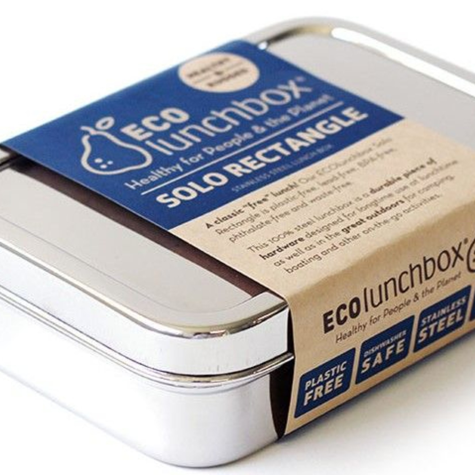 ECOlunchbox Lunchbox - Solo Rectangle