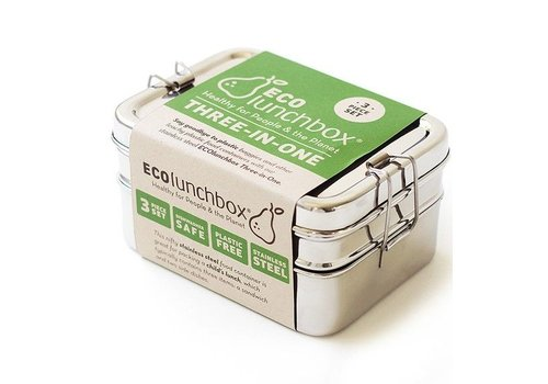 ECOlunchbox Lunchbox Three-in-one