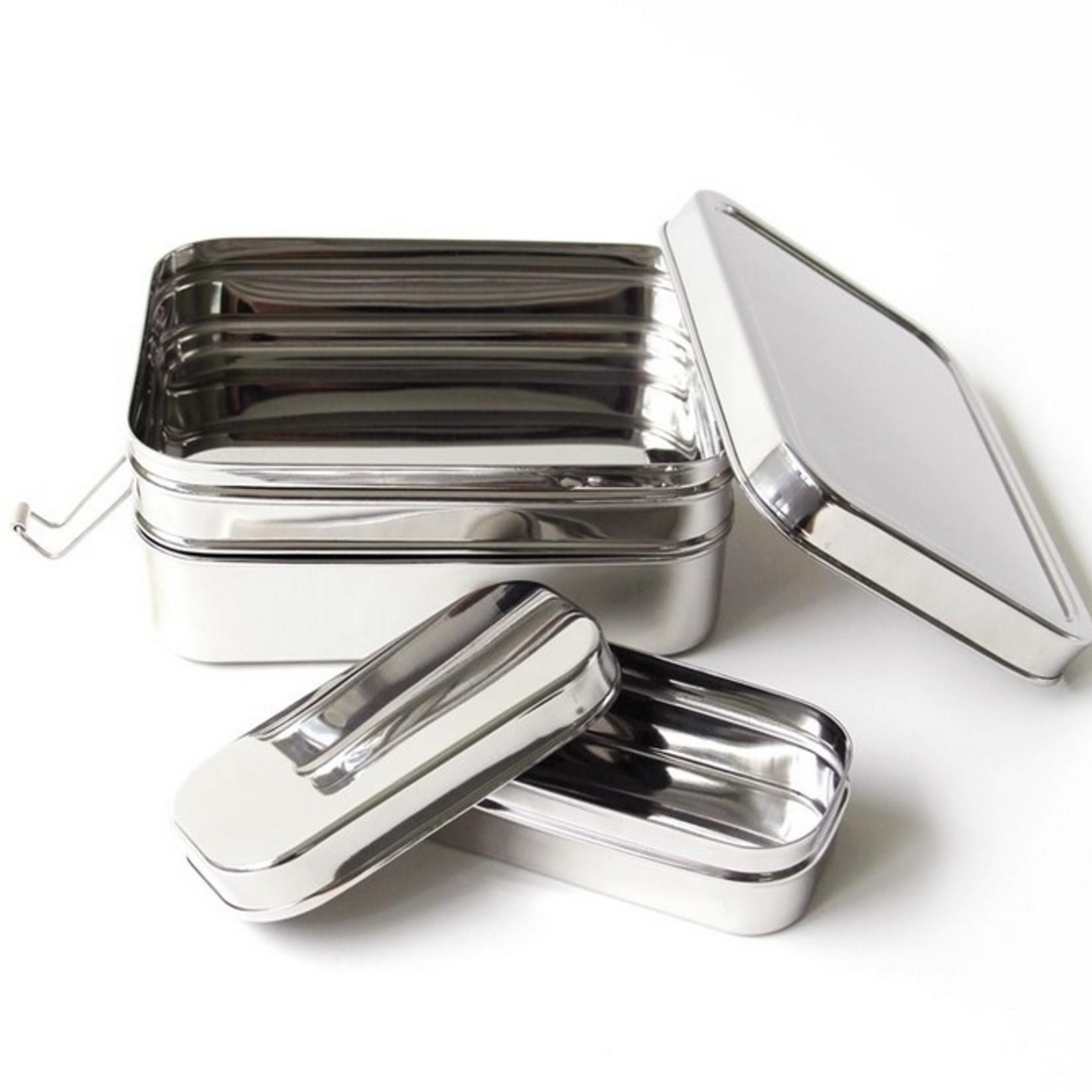 ECOlunchbox Stapelbare Lunchbox Three-in-one