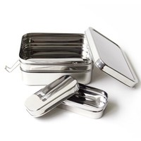 Stapelbare Lunchbox Three-in-one