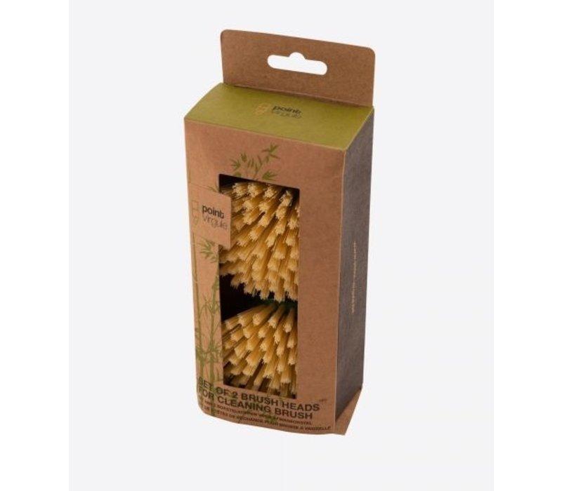 Bamboe Afwasborstel  - vervanging
