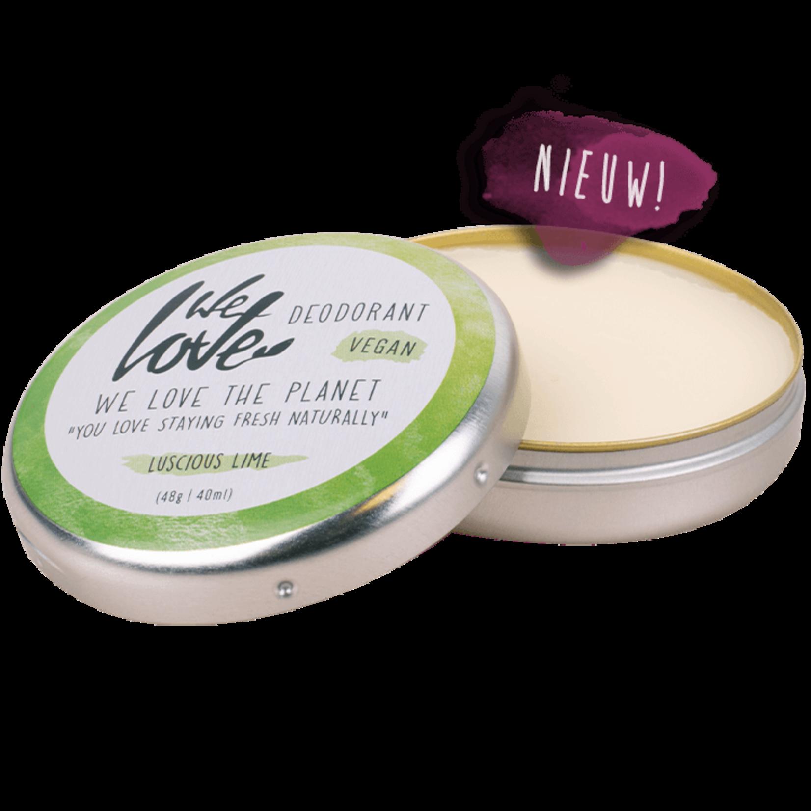 We love the planet Deodorant Crème in blikje