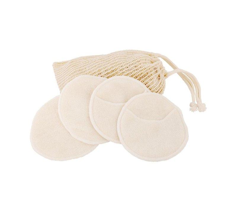 Wasbare make-up pads in waszakje