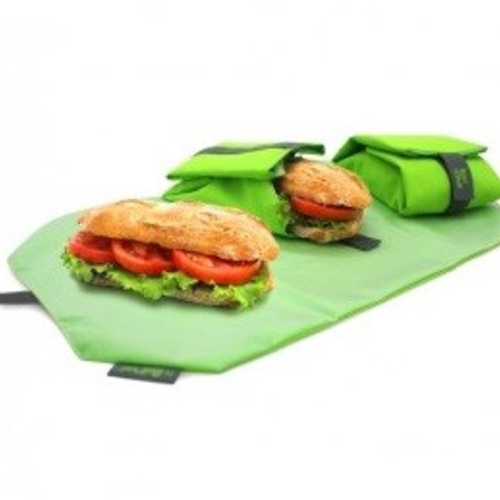 Roll'Eat Lunchwrap van ecologisch katoen, voor een verse lunch.