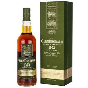 Glendronach 25 years 1993 Master Vintage