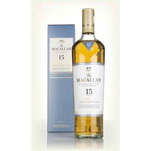 The Macallan 15 Year Old Triple Cask