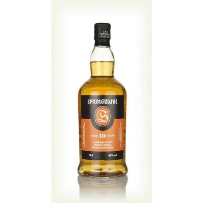 Springbank 10 Year Old 17/08/2020