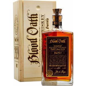 Blood Oath Pact 6 Bourbon Whiskey