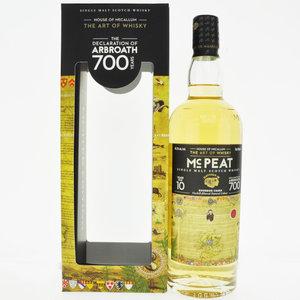 House Of Mccallum Mc Peat The Declaration Of Arbroath 10 Year Old Single Malt Scotch Whisky