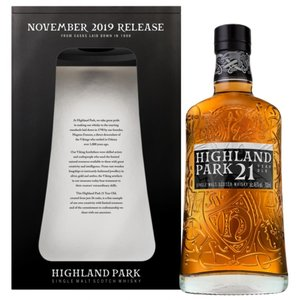 Highland Park 21 Year Old - November 2019 Release