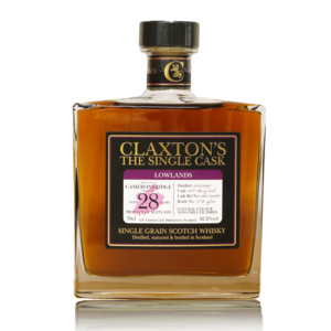 Claxton's The Single Cask - Cameronbridge 28 Years Old PX Cask