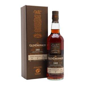 GlenDronach 1993 27 Year  Old, Batch 18 Cask #7276