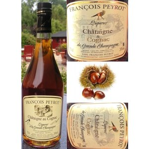 François Peyrot Kastanje likeur en Cognac