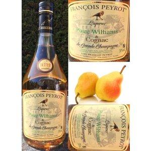 François Peyrot Williams Peren likeur en Cognac