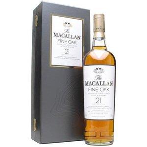 The Macallan 21 Years Fine Oak - Old Bottling