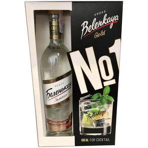 Belenkaya Vodka Gold No. 1 Giftpack