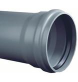 PVC afvoerbuis Ø 110mm SN8 met manchetmof