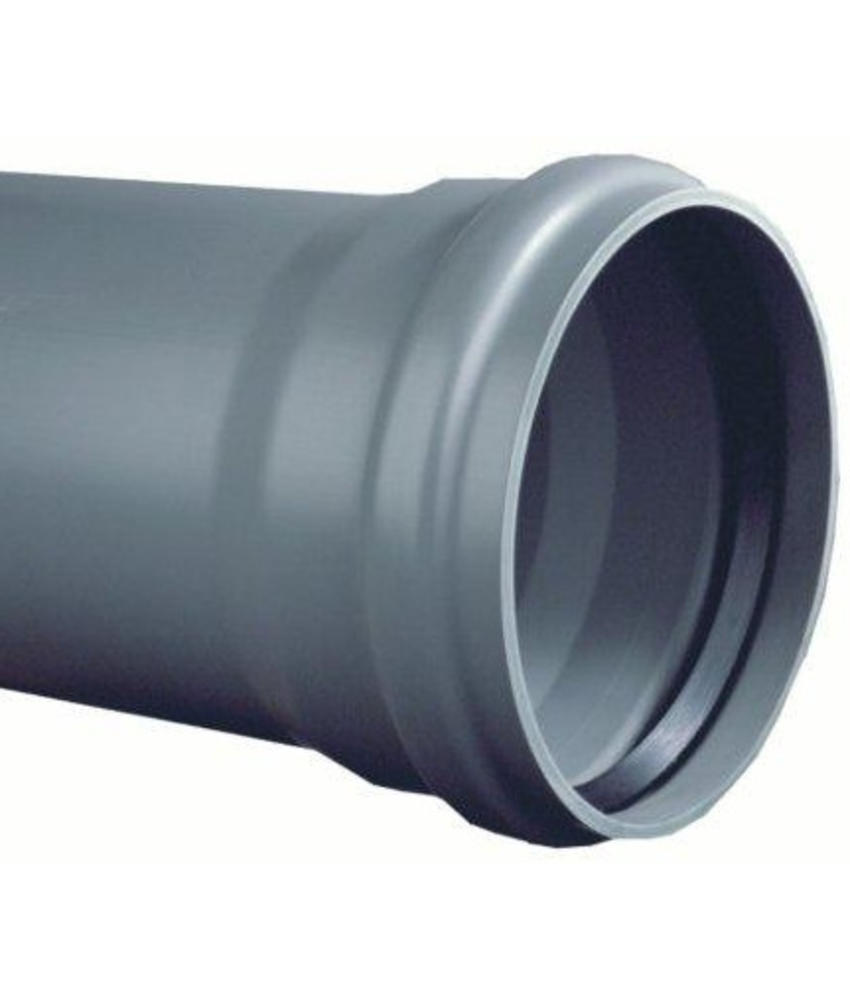 PVC afvoerbuis Ø 250mm SN8 met manchetmof