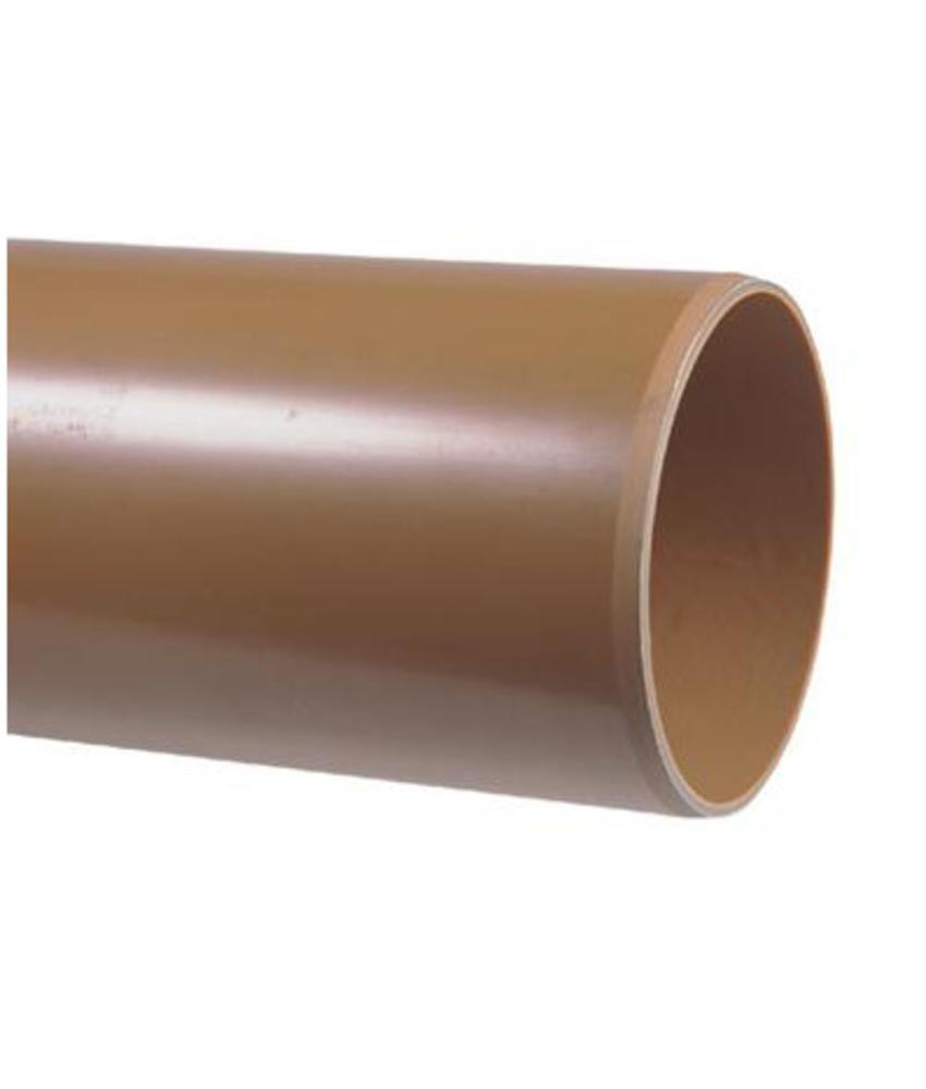 PVC afvoerbuis Ø 125mm SN4 bruin