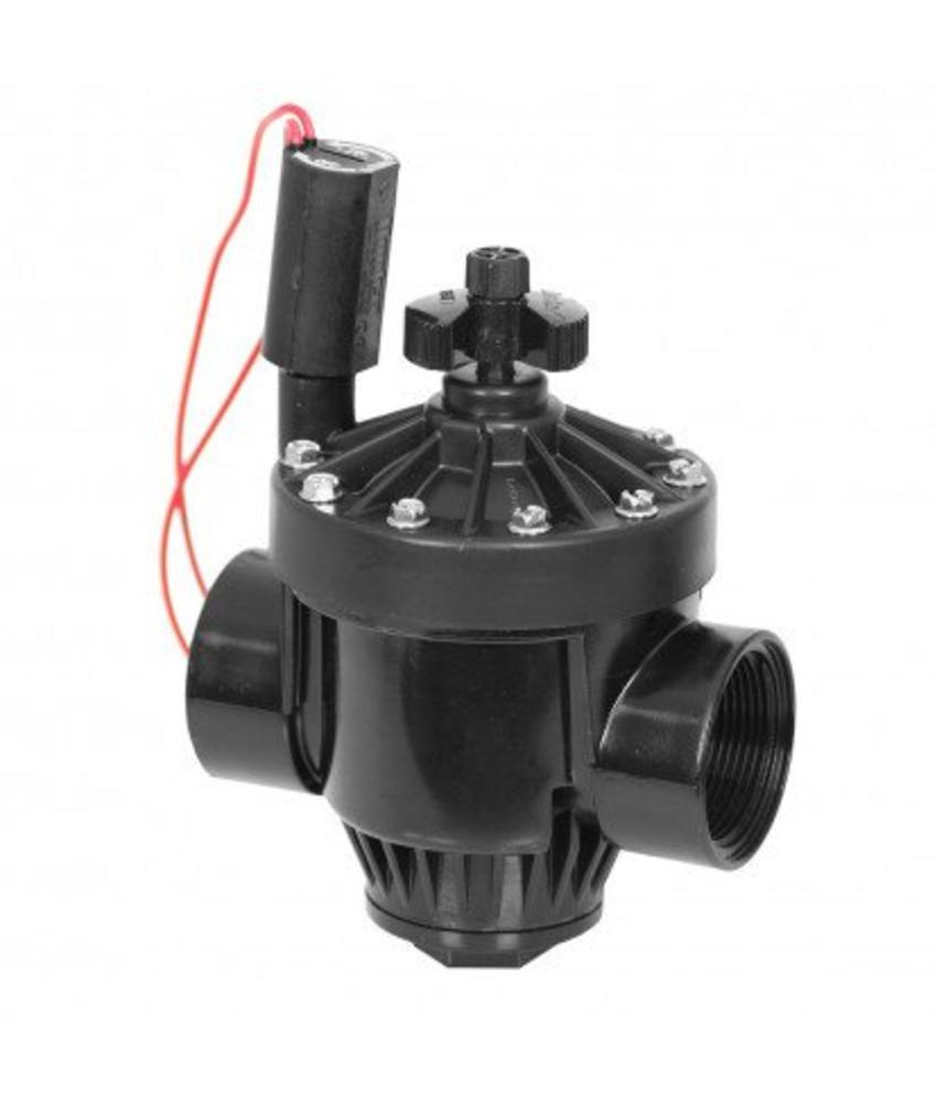 """Hunter PGV 1½"""" magneetklep met flowcontrol"""