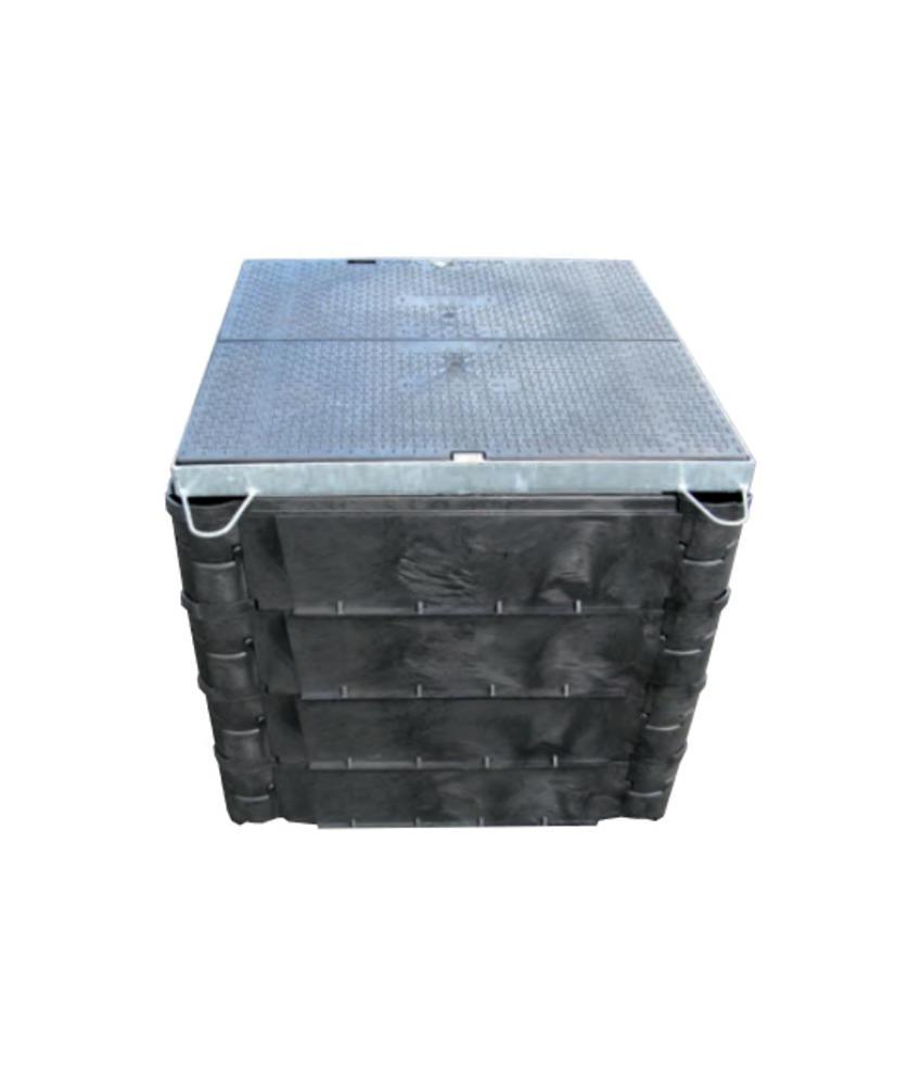 Carson STAKKA boxen - 915 x 915 mm bodemplaat met ring