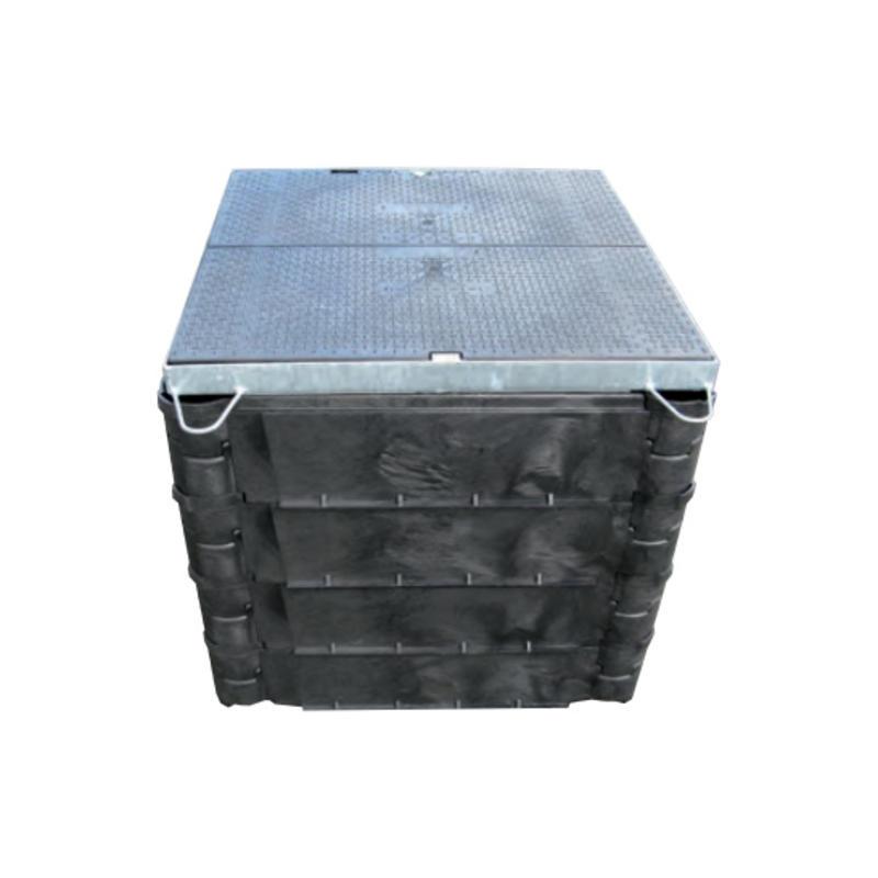 Carson STAKKA boxen - 1310 x 610 mm bodemplaat met ring