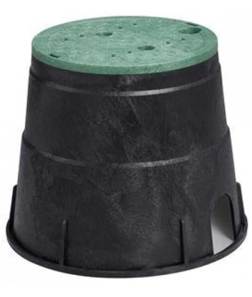 Ronde kleppendoos ∅ 28,5 cm incl. deksel