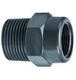 VDL PVC draadsok 1/4'' bi. draad  x 3/8'' bu. draad
