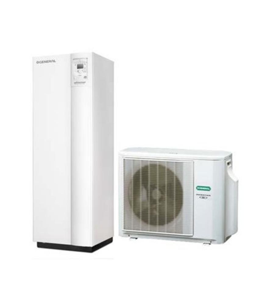 Fujitsu Waterstage WCD08 lucht/water warmtepomp