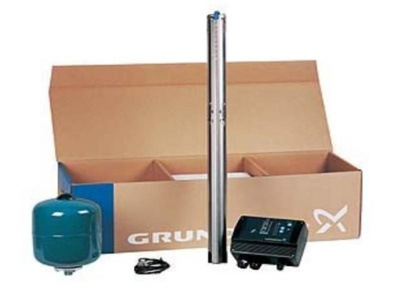 Grundfos Constant drukpakket met SQE 3-65 bronpomp incl. 40 m kabel