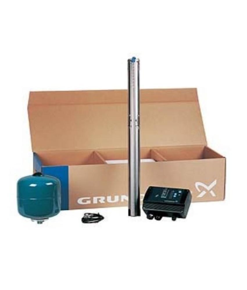 Grundfos Constant drukpakket met SQE 3-105 bronpomp incl. 80 m kabel