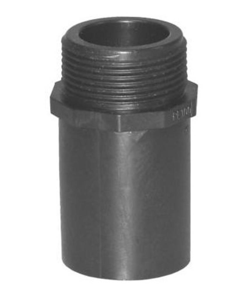"""Plasson Puntstuk 40 mm x 1"""" met lang spie-eind"""