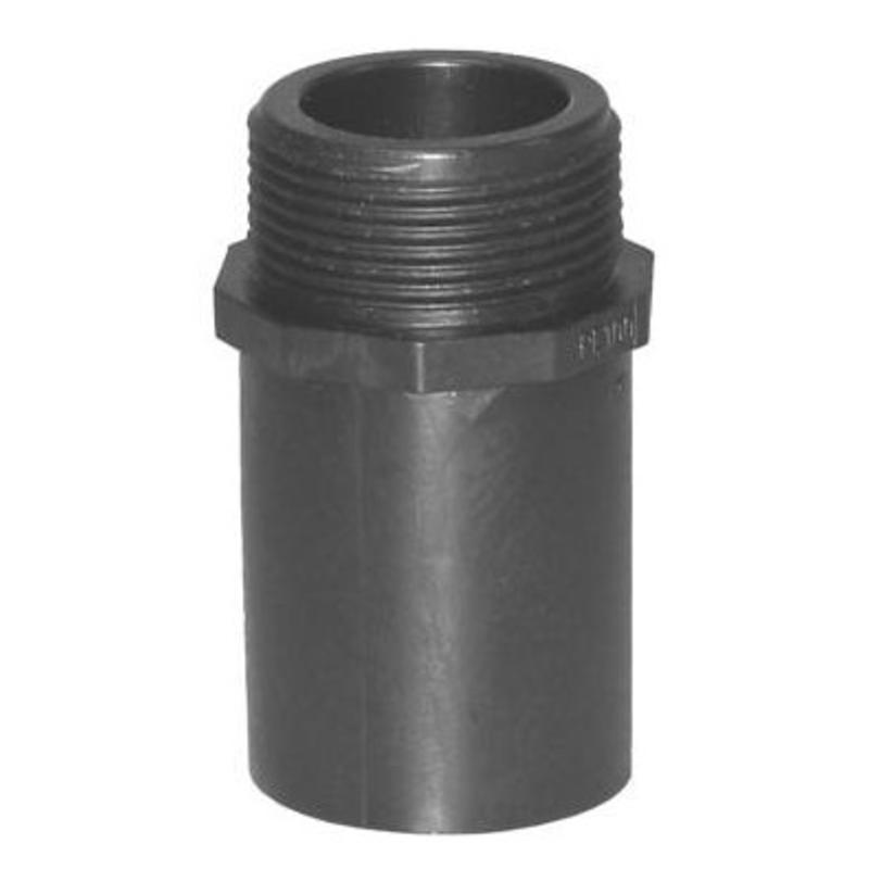 """Plasson Puntstuk 40 mm x 1½"""" met lang spie-eind"""