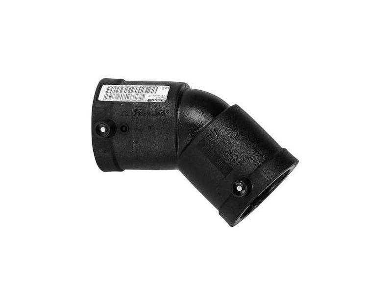 Plasson Elektrolas knie 40 mm 45°