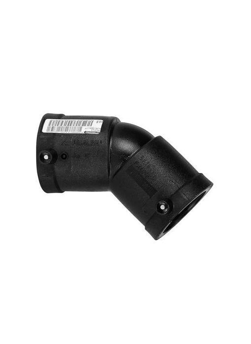 Plasson Elektrolas knie 225 mm 45°