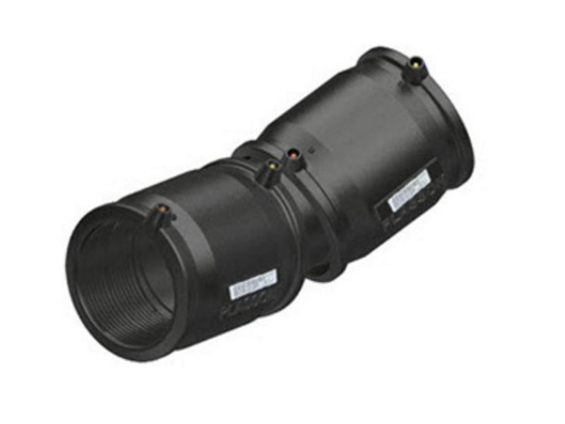 Plasson Elektrolas flexibele koppeling 200 mm / 0-24° - 2 x mof