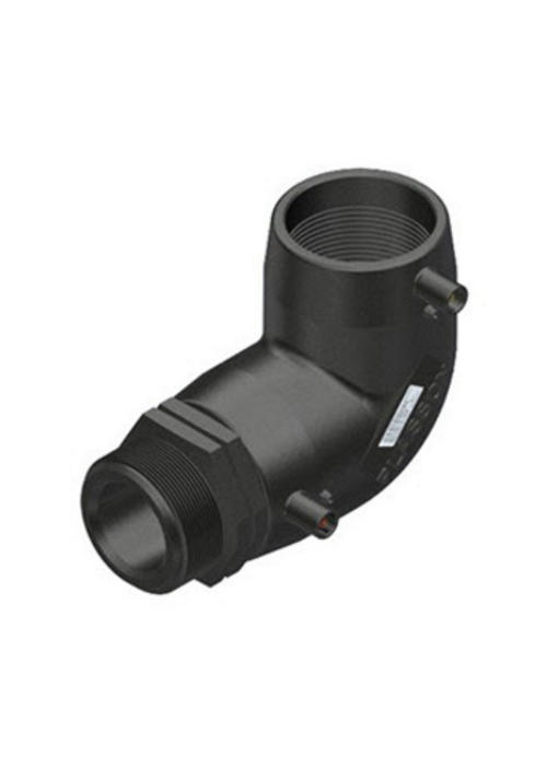 "Plasson Elektrolas overgangsknie 25 mm x ¾"" - 90° voor water bu.dr."