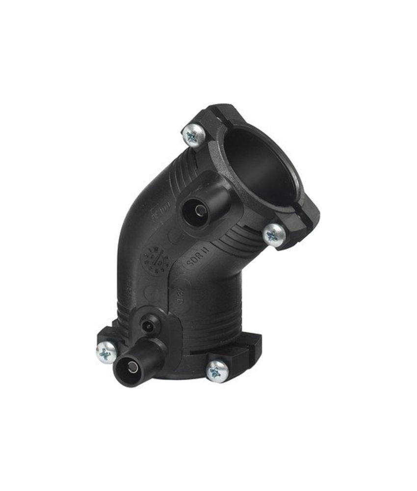 GF ELGEF elektrolas knie 45° | 50 mm - PE100 / SDR11