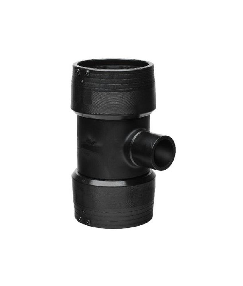 GF ELGEF elektrolas T-stuk 90° reductie | 225 mm / 160 mm